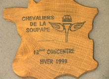 chevaliers soupape medaille concentration moto 1993