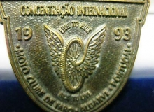 Faro medaille concentration moto 1993