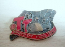benevolent fund medaille concentration moto 1993