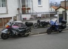 Moto BFG 1300 side car solo
