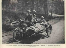 moto guerre ambulance