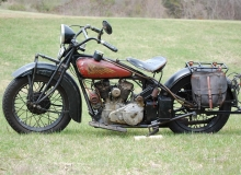 1931 Indian 101 Scout 45 cu. in 750 cc All Original v3
