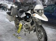 moto neige skis gs bmw