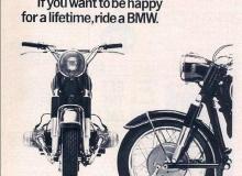 publicite moto bmw 1965