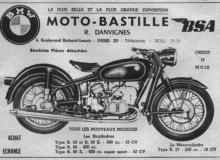 publicite moto bmw bastille