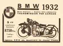 publicite moto bmw 1932