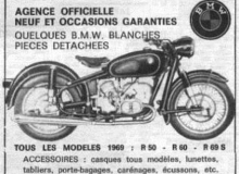 publicite moto bmw 1969