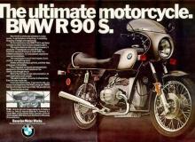 publicite moto bmw r90s