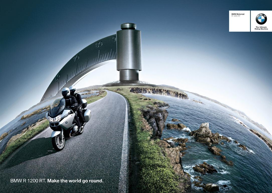 100 ans de publicité pour moto BMW FreeBikerBlog