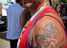 tatoo ducati sckull