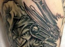 tatoo outils mecanicien