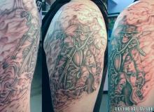 tatouage motard