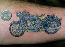 tatouage motard bmw r60