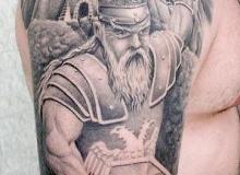 tatouage motard gerrier