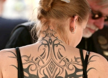 tatouage motard tribal_dos