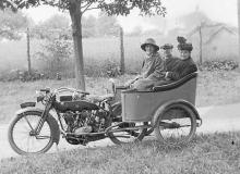 transport en commun moto