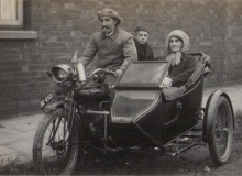 side car ancien