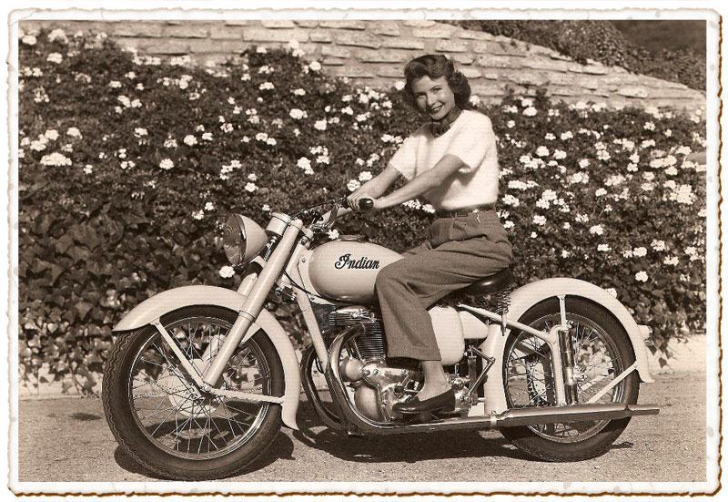 Wonderful Vieilles photos de moto en noir et blanc - FreeBikerBlog RP79