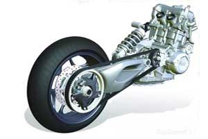 mécanique moto transmission